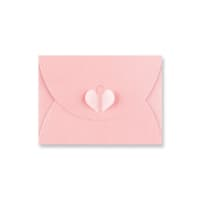C7 BABY PINK BUTTERFLY ENVELOPES