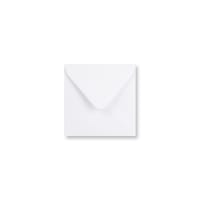 WHITE 105mm SQUARE ENVELOPES 120GSM