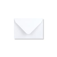 WHITE 65 x 94 MM GIFT TAG ENVELOPE 120GSM