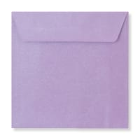 130 X 130MM LILAC TEXTURED ENVELOPES