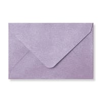 62 X 94MM LILAC TEXTURED ENVELOPES
