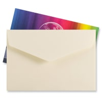 62 x 94MM IVORY V-FLAP PEEL AND SEAL ENVELOPES