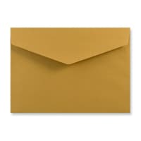 C5 GOLD V-FLAP PEEL AND SEAL ENVELOPES