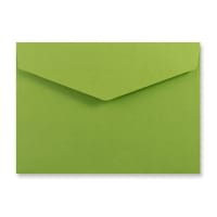 C5 GREEN V-FLAP PEEL AND SEAL ENVELOPES