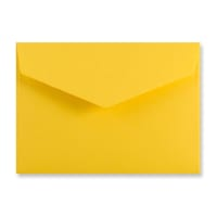 C6 DARK YELLOW V-FLAP PEEL AND SEAL ENVELOPES