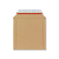 180 x 180mm RIGID FLUTED CARDBOARD ENVELOPES
