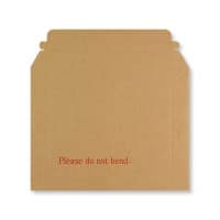 180 x 235mm RIGID FLUTED PRINTED CARDBOARD ENVELOPES