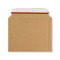 180 x 235mm RIGID FLUTED CARDBOARD ENVELOPES