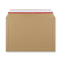 194 x 292mm RIGID FLUTED CARDBOARD ENVELOPES