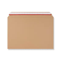 321 x 467mm RIGID FLUTED CARDBOARD ENVELOPES