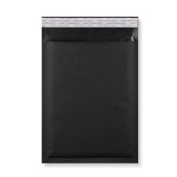 C5 + BLACK PADDED BUBBLE ENVELOPES (250 x 180MM)