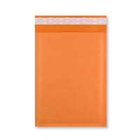 270 x 190MM ORANGE PADDED BUBBLE ENVELOPES
