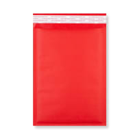 270 x 190MM RED PADDED BUBBLE ENVELOPES