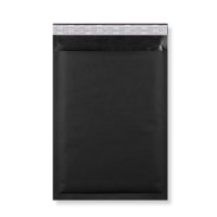 350 x 250MM BLACK PADDED BUBBLE ENVELOPES