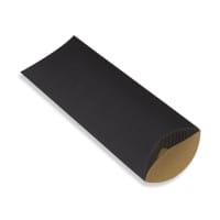 220 x 110 + 30MM DL BLACK CORRUGATED PILLOW BOXES
