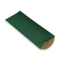 220 x 110 + 30MM DL DARK GREEN CORRUGATED PILLOW BOXES