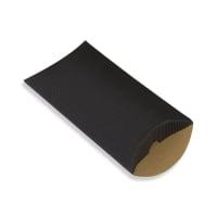 162 x 114 + 30MM C6 BLACK CORRUGATED PILLOW BOXES