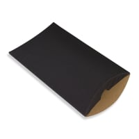 229 x 162 + 30MM C5 BLACK CORRUGATED PILLOW BOXES