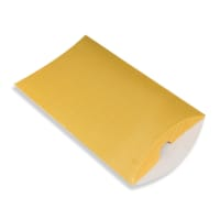 229 x 162 + 30MM C5 GOLD CORRUGATED PILLOW BOXES
