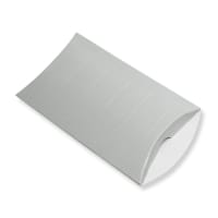 229 x 162 + 30MM C5 SILVER CORRUGATED PILLOW BOXES