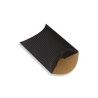 60 x 75 + 30MM BLACK CORRUGATED PILLOW BOXES
