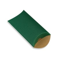 113 x 81 + 30MM C7 DARK GREEN CORRUGATED PILLOW BOXES