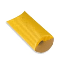 113 x 81 + 30MM C7 GOLD CORRUGATED PILLOW BOXES