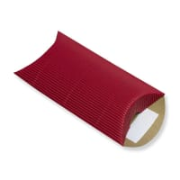 113 x 81 + 30MM C7 RED CORRUGATED PILLOW BOXES