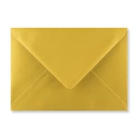 METALLIC GOLD 125 x 175 mm ENVELOPES (i6)