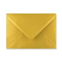 METALLIC GOLD 133 x 184mm ENVELOPES (i8) (NEW SHADE)