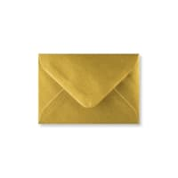 METALLIC GOLD 70 x 100 mm GIFT TAG ENVELOPE (i2)