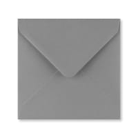 DARK GREY 140mm SQUARE ENVELOPES