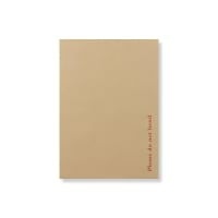 C4 ECO MANILLA PAPER BOARD BACKED ENVELOPES 120GSM + 500gsm BOARD