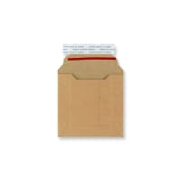 120 x 120mm SOLID MANILLA ALL BOARD MAILER ENVELOPES