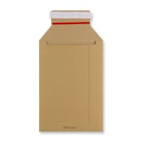 250 x 175mm SOLID MANILLA ALL BOARD MAILER ENVELOPES