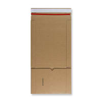 147 x 126 x 60mm MANILLA BOOK WRAP MAILERS