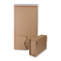 270 x 190 x 80mm MANILLA BOOK WRAP MAILERS