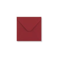 110 x 110mm DARK RED ENVELOPES