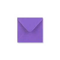 110 x 110mm PURPLE ENVELOPES