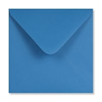 BRIGHT BLUE 155mm SQUARE ENVELOPES 120GSM
