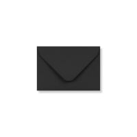 BLACK 65 x 94mm ENVELOPES 120GSM