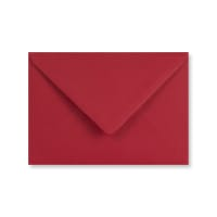 DARK RED 70 x 100mm ENVELOPES 120gsm