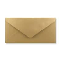 DL GOLD ENVELOPES 120GSM