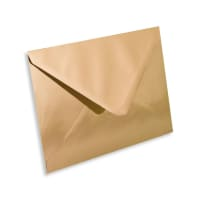 C5 GOLD MIRROR ENVELOPES 120GSM