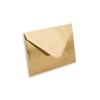 C7 GOLD MIRROR ENVELOPES 120GSM