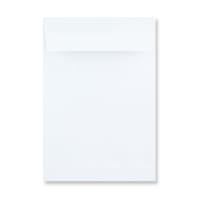 254 x 178mm WHITE GUSSET ENVELOPES