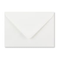 C6 WHITE LAID ENVELOPES