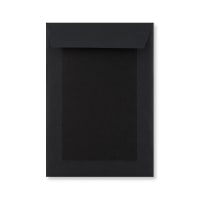 C5 FULL BLACK BOARD BACK ENVELOPES