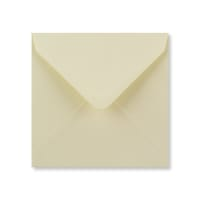 CREAM 130mm SQUARE ENVELOPES
