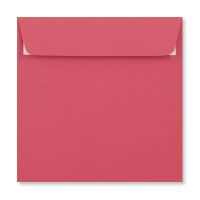 BRIGHT PINK 155MM SQUARE PEEL & SEAL ENVELOPES